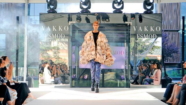 Vakko ESMOD Moda Akademisi mezunlarından özel bir defile