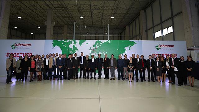 Alman devi Lohmann yeni üretim tesisini Gebze'de açtı