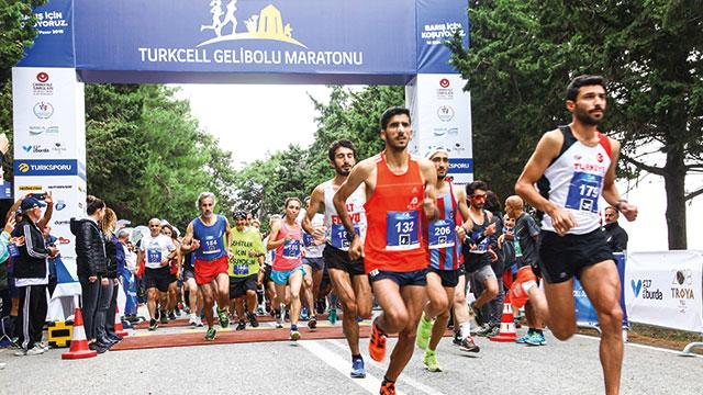 Turkcell Gelibolu Maratonu yine 'Barış'ın buluşma noktası oldu