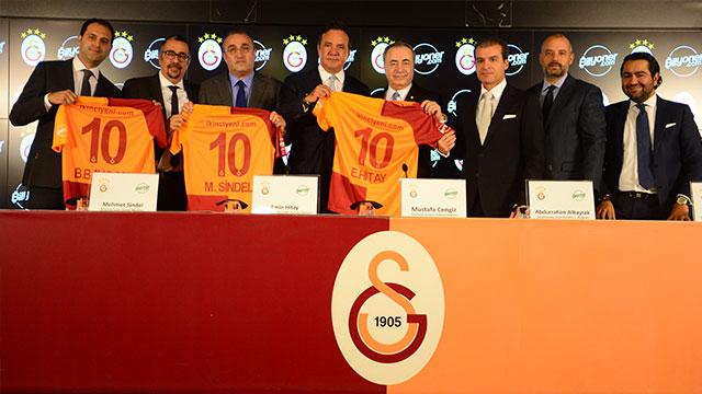 Bilyoner'den Galatasaray'a hem sahada hem potada dev sponsorluk