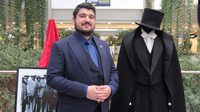 Levon Kordonciyan, 'Yüzyılın En Şık Lideri' sergisini Ankara'da görücüye çıkardı
