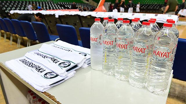 Hayat Su, Darüşşafaka'ya sponsor oldu