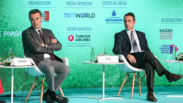 Fikret Orman ve Ali Koç sporun ekonomisini konuştu