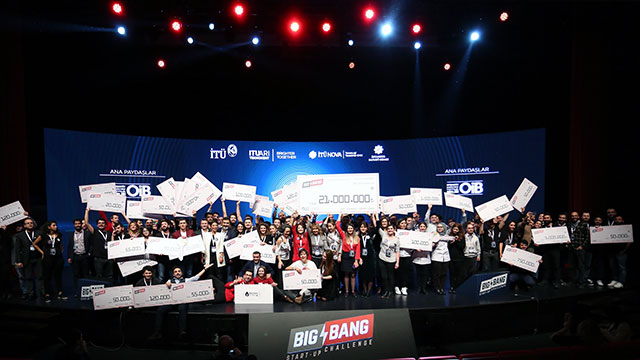 Girişimciye Big Bang'den 21 milyon lira