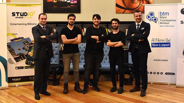 Üç Türk genci dünya çapında mobil oyun şirketi olmayı hedefliyor