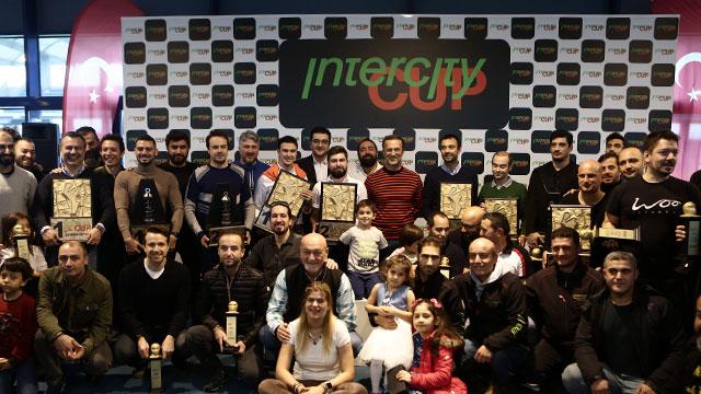 İntercity Cup'ın en hızlıları kupalarını aldı