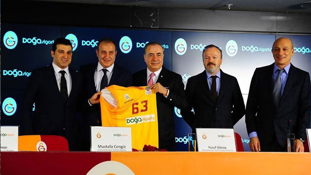 Doğa Sigorta, Galatasaray'a sponsor oldu