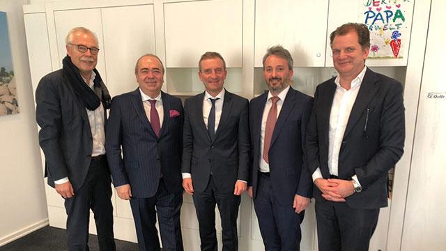 Türk şirketin lansmanı Alman başkandan