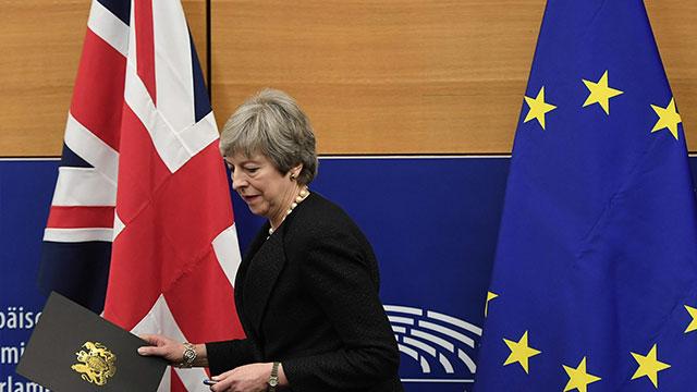 May: Brexit gerçekleşemeyebilir
