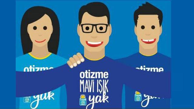 """2 Nisan Dünya Otizm Farkındalık Günü'nde  """"Otizme Mavi Işık Yak"""" çağrısı!"""