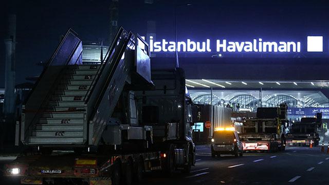 THY'nin İstanbul Havalimanı'na 'Büyük Göç'ü başladı