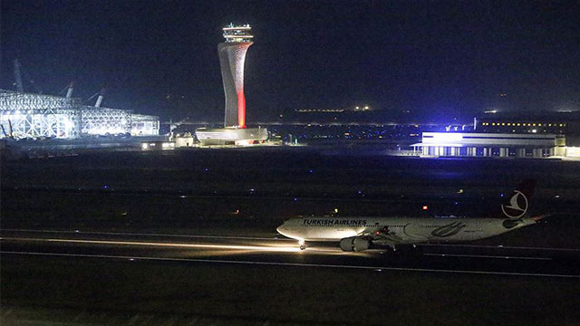 İstanbul Havalimanı'nda tarihi gün