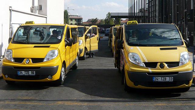 İstanbul'da yeni taksi dolmuş hatları geldi