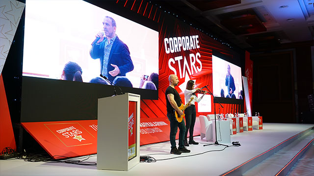 İş dünyasının yıldızları Corporate Stars Zirve 2019'da buluştu