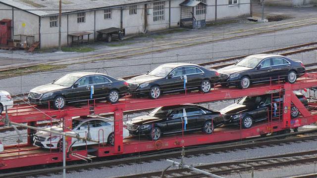 Demir yoluyla otomotiv ihracatı başlıyor