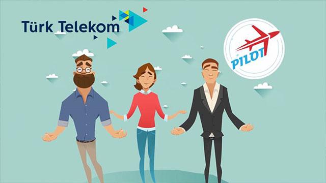 Türk Telekom PİLOT girişimlerinden 24 milyon TL ciro