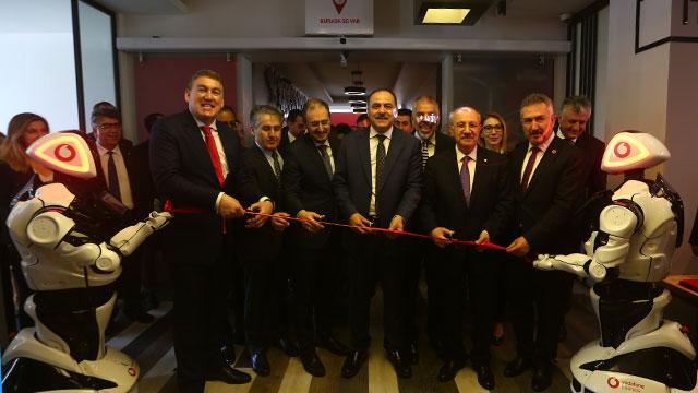 'İTÜ Vodafone Future Lab' açıldı