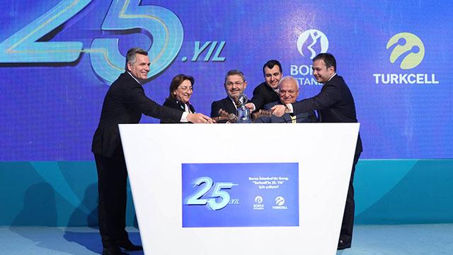 Turkcell'den ilk çeyrekte 1 milyar 224 milyon TL net kar