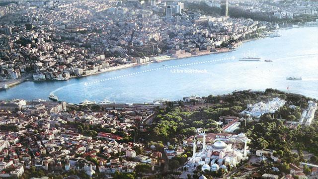 Galataport ile 2,5 milyon turist bekleniyor