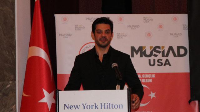 Mehmet Dinçerler, ABD'deki Gençlik Zirvesi'nde yerini aldı