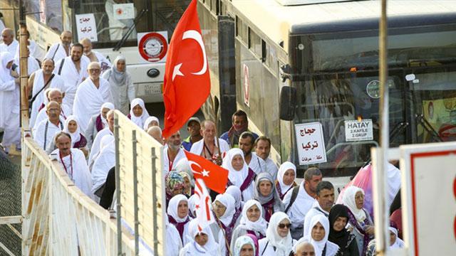 Türkiye'nin hac tablosu