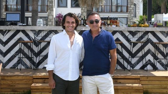 Yatırımcı baba-oğuldan turizm yatırımı
