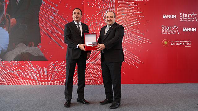 Ekonomiye 2 milyar liralık katkı sağlayacak, yerli ve milli veri merkezi 'Star of Bosphorus' açıldı