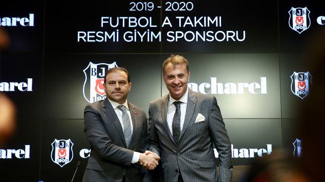 Cacharel, Beşiktaş'a sponsor oldu