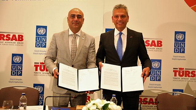TÜRSAB-UNDP ile 'sürdürülebilir' turizm için imzalar atıldı