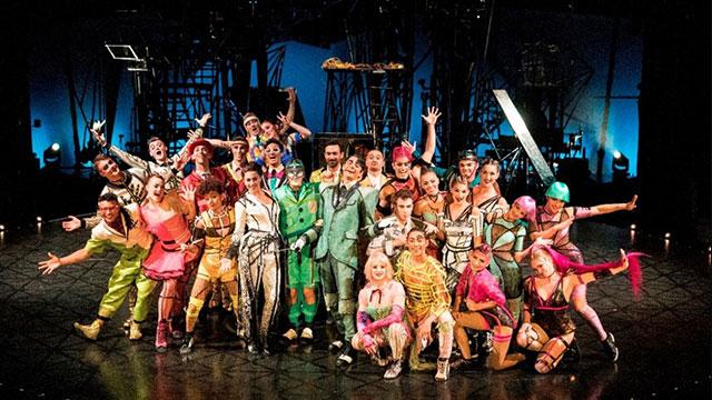 Cirque du Soleil'in yepyeni şovu Bazzar ilk kez İstanbul'da