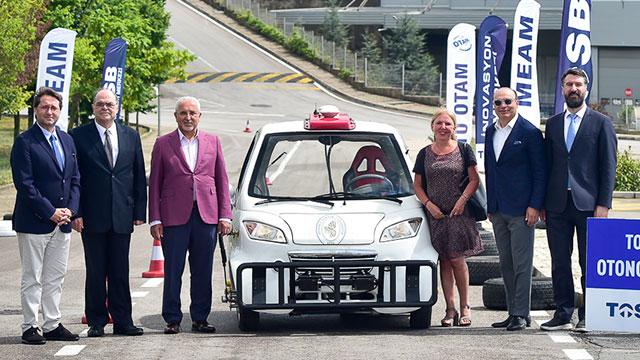 Sürücüsüz Araç Test Parkuru TOSB'da kullanıma açıldı