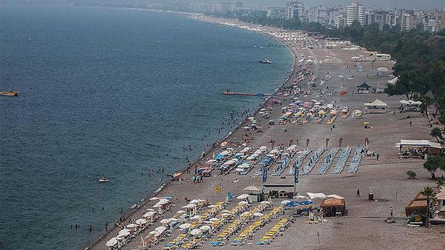 Türkiye'de otel doluluk oranı ilk yarıda yüzde 63,8'e ulaştı