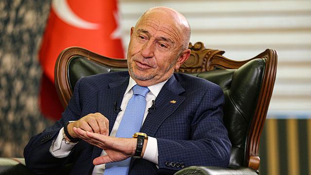 TFF Başkanı Özdemir: Yöneticilerinin de mali olaylardan sorumlu olma maddesi mutlaka konmalı