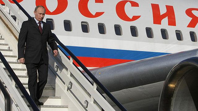 Türklerin yaptığı havalimanını Putin açacak