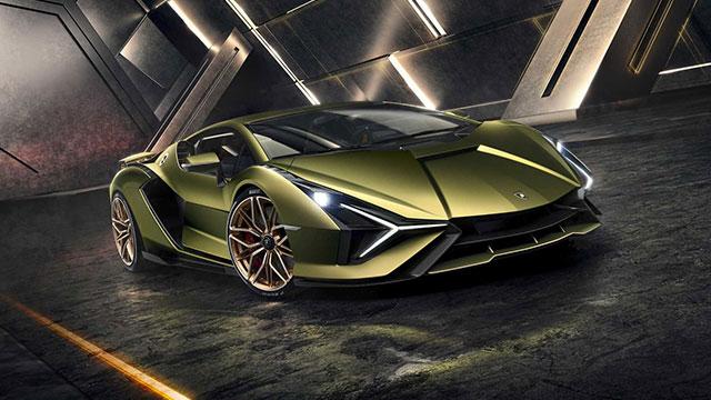 Lamborghini'nin ilk elektrikli otomobili 'Sian' tanıtıldı