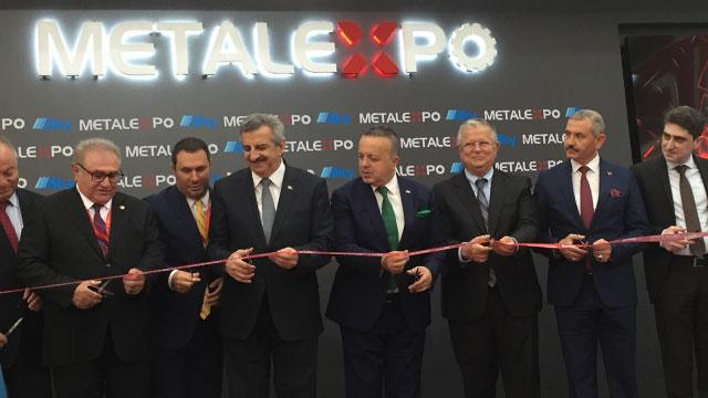 """Metal Expo """"Çelik Medeniyettir"""" sloganıyla açıldı"""
