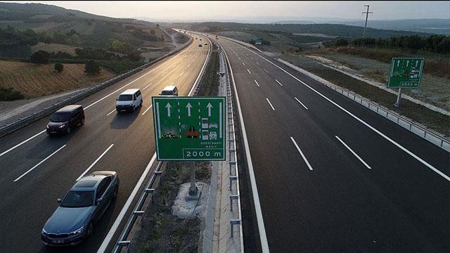 İstanbul-İzmir Otoyolu'ndan geçen araç sayısı belli oldu
