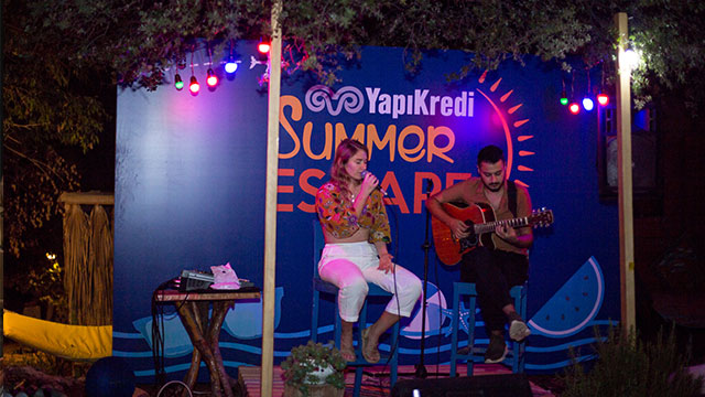 Yapı Kredi Summer Escape yaza veda etti