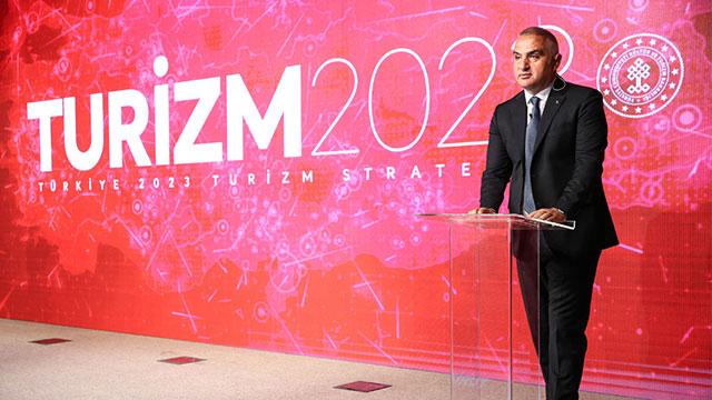 Türkiye'nin 2023 Turizm Stratejisi açıklandı
