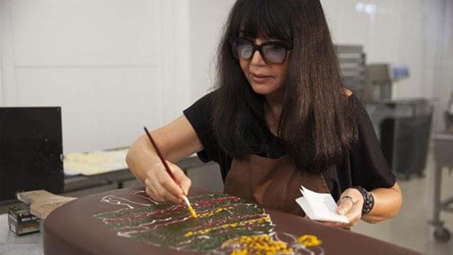 Çikolatadan sanat eserlerine