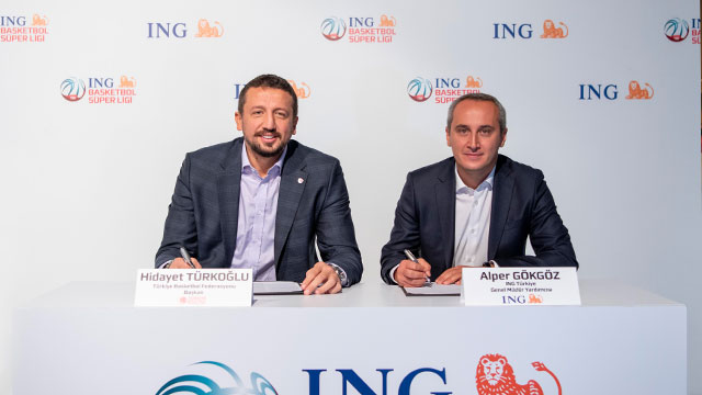ING Türkiye, Basketbol Süper Ligi'nin isim sponsoru oldu