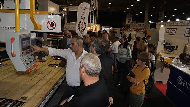 Makine üreticileri CNR Marble Tech'te güç gösterisi yaptı