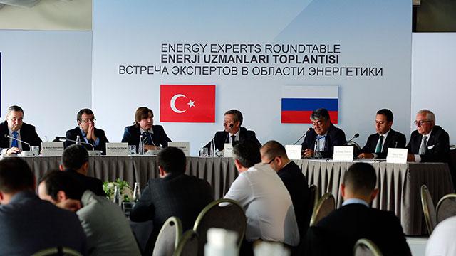 Türk-Rus Enerji Uzmanları bir araya geldi