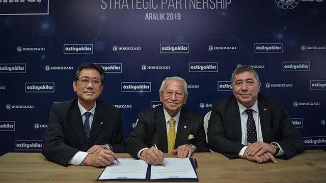 Öztiryakiler, Japon ortağı ile resmi imzaları attı
