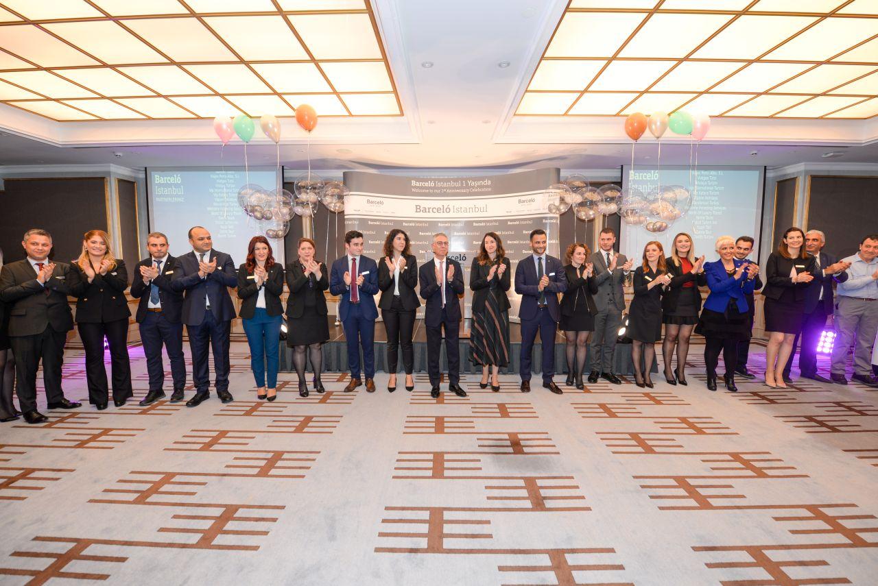 Barcelo İstanbul birinci yıl dönümünü yerli iş ortaklarıyla kutladı