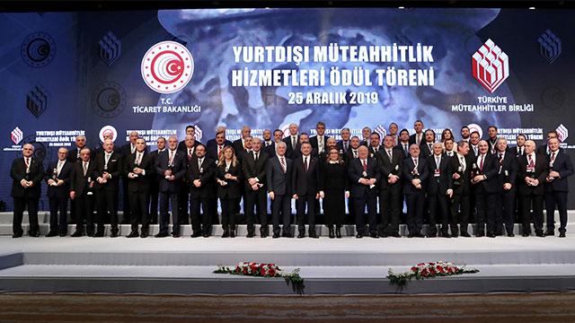 Türk müteahhitleri 10 yıldır dünya ikincisi