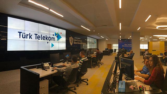 Türk Telekom Siber Güvenlik Merkezi ile Türkiye'nin verisini koruyor