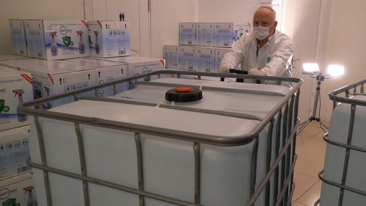 Sabancı'dan 10 ton dezenfektan bağışı