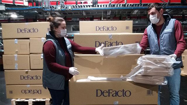DeFacto'dan sağlık çalışanlarına 'beyaz' destek