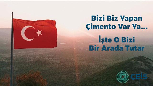 ÇEİS'ten Türkiye'ye umut ve destek veren reklam filmi